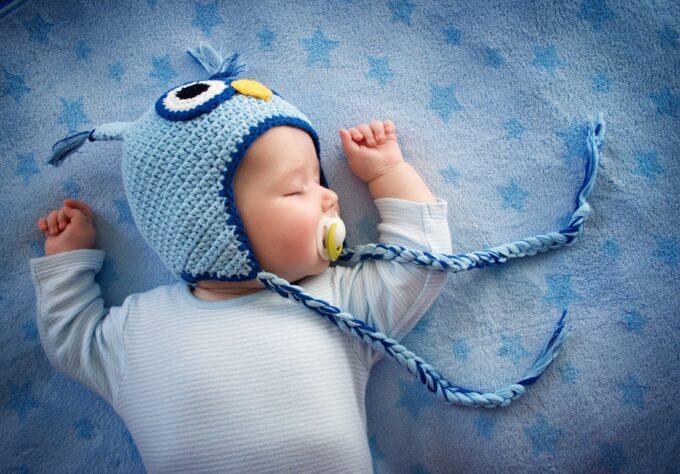 Baby sleeping shows importance of sleep in children