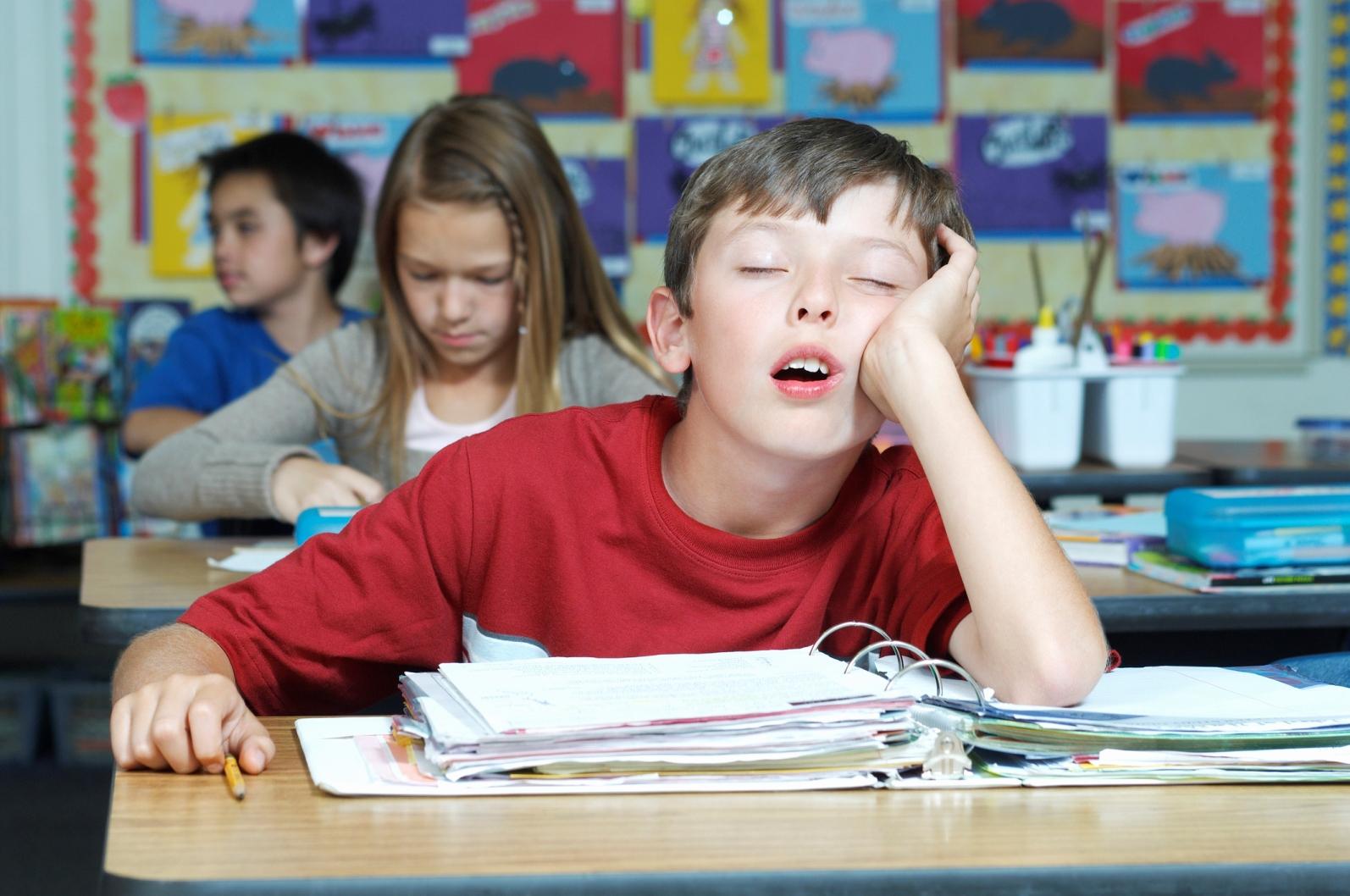 sleep and school