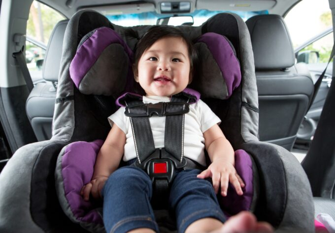 Preventing child from being left in hot cars.
