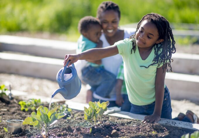 A Garden Grows a Healthy Child - Powered by Nemours Children's Health System