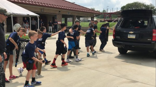 Homeland Security Cadet Camp Gives Kids Chance to be Crime Fighters, Powered by Nemours Children's Health System