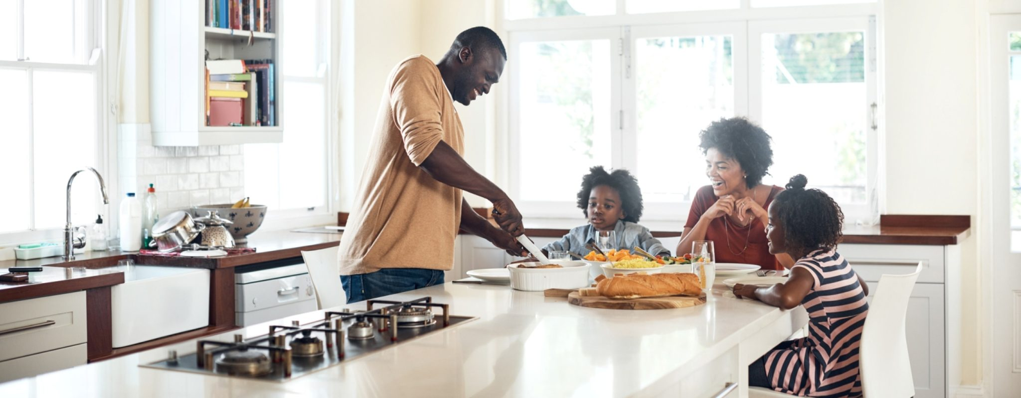 Family Meals Means a Healthy Family, Powered by Nemours Children's Health System